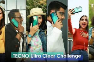 "Tecno ""Ultra-clear Challenge"" with top-six KOL's"