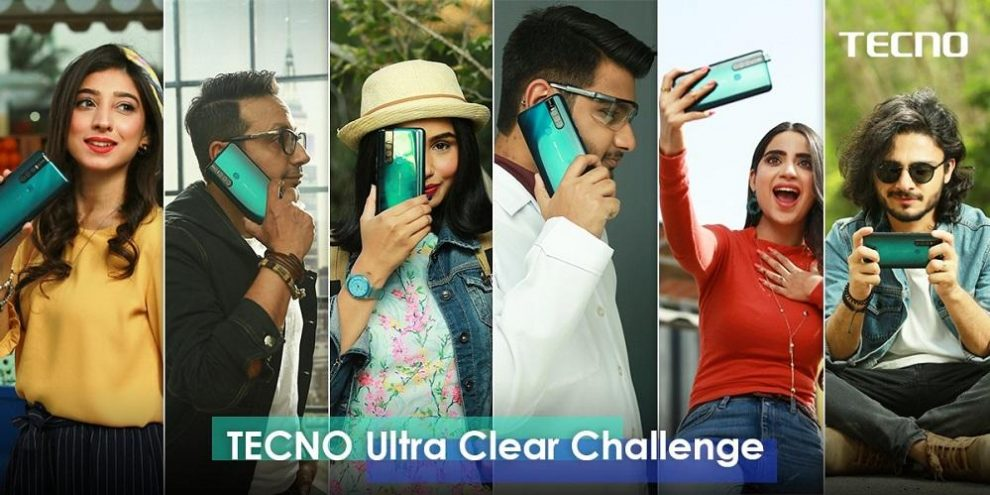 "Tecno ""Ultra-clear Challenge"" with top-six KOL's"