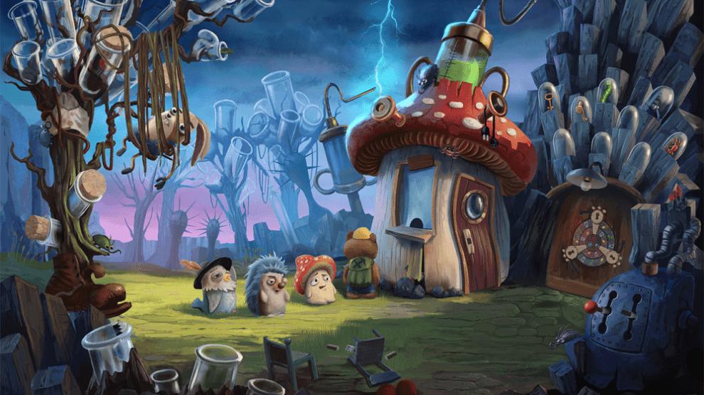 Why children live in a fantasy world?