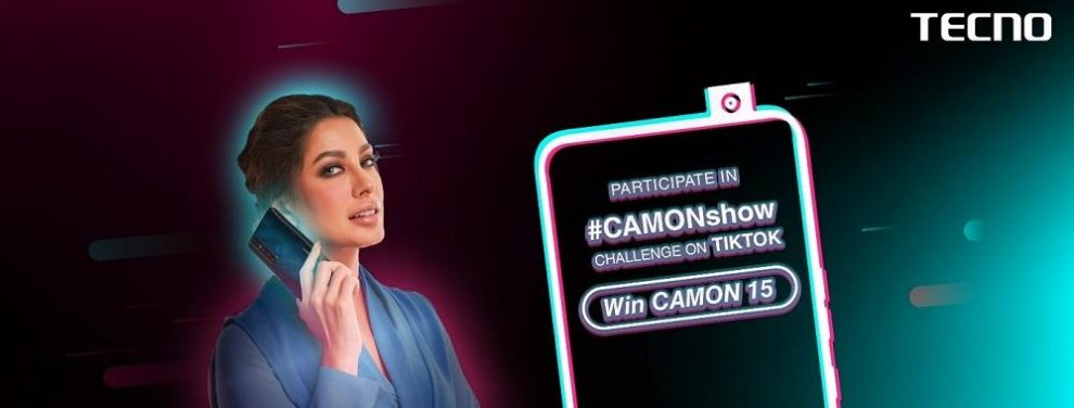 TECNO PARTNERS TIKTOK FOR #CAMONSHOW CHALLENGE