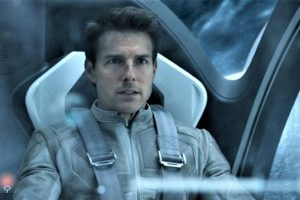 Tom Cruise is filming a movie in space