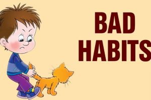 How to deal with bad habits children learn at school