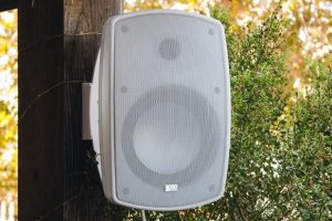 Upgrade your garden with weatherproof outdoor speakers