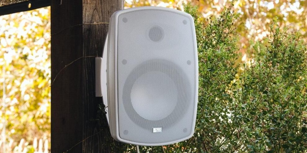 Upgrade your garden with weatherproof outdoor speakers