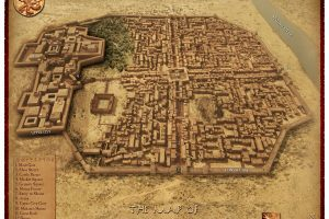 The ancient city of Mohenjo-Daro