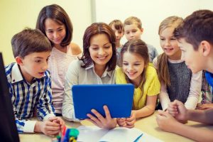 Making teachers comfortable with classroom technology