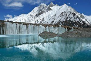 Baltoro glacier in eastern Karakorum