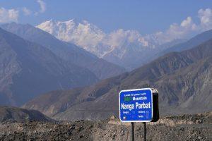 Nanga Parbat the ninth highest mountain in the world