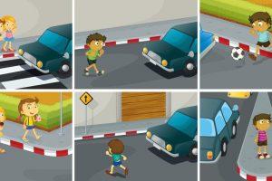 Children must follow traffic rules