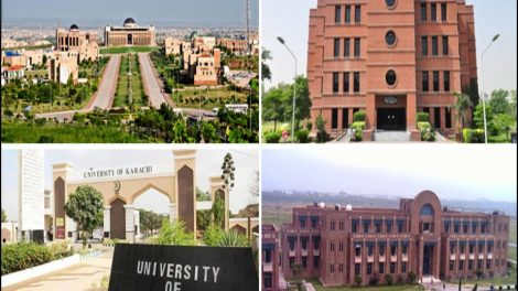 8 Top Rated Universities in Pakistan Recognized By The World