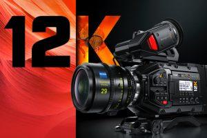 Blackmagic Design announces the new Blackmagic URSA Mini Pro 12K