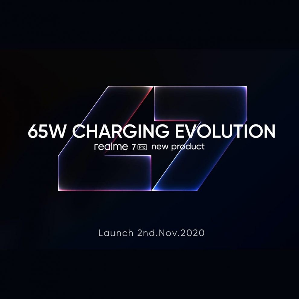 Realme soon to launch realme 7 Pro the Fastest charging smartphone in Pakistan
