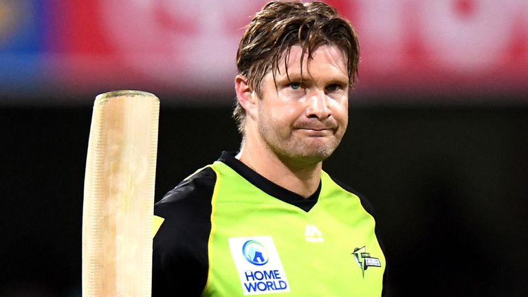 Is Shane Watson stepping down?