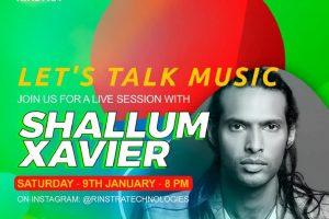 Shallum Xavier Launches Jam Room on RINSTRA