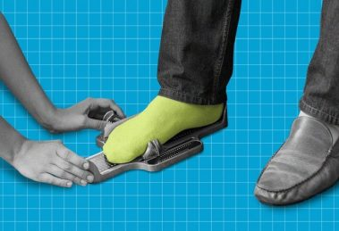 Those who take off their shoes when entering the house are right. Science supports them