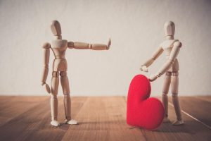How to overcome a love rejection